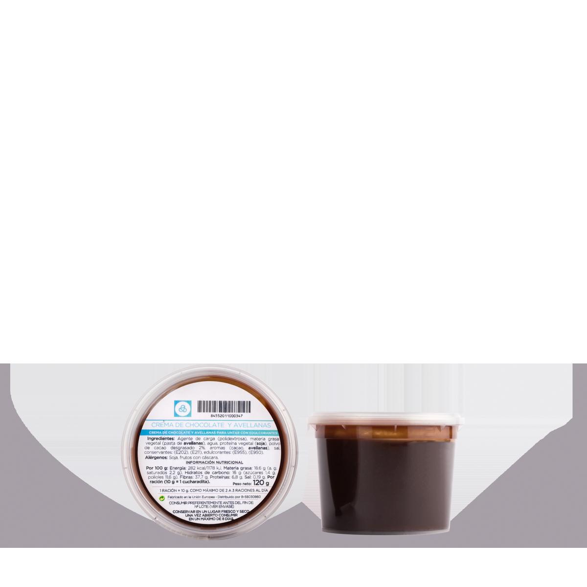 Crema de chocolate para untar